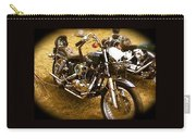 Black Motorcycle  Carry-all Pouch