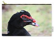 Black Muscovy Head Study Carry-all Pouch