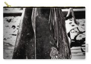 Black N White Chaps Carry-all Pouch