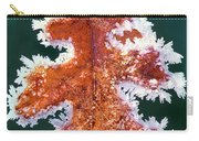 Black Oak Leaf Rime Ice Yosemite National Park California Carry-all Pouch