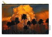 Black Palms At Dusk Carry-all Pouch