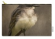 Black Phoebe Carry-all Pouch