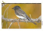 Black Phoebe Sayornis Nigricans Carry-all Pouch