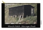 Black Pitch Storage Shed Carry-all Pouch