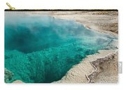 Black Pool In West Thumb Geyser Basin Carry-all Pouch