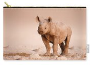 Black Rhinoceros Baby Carry-all Pouch