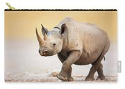 Black Rhinoceros Carry-all Pouch by Johan Swanepoel