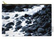Black Rocks Along The Puna Coast Carry-all Pouch