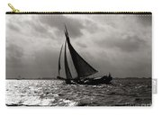 Black Sail Sunset Carry-all Pouch