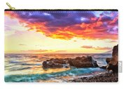 Black Sand Sunset Carry-all Pouch