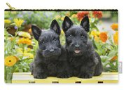 Black Scotties Carry-all Pouch