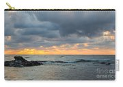 Black Sea Sunrise Before Storm Carry-all Pouch