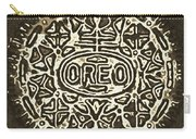 Black Sepia Oreo Carry-all Pouch