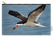Black Skimmer In Flight Carry-all Pouch
