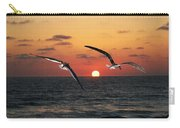 Black Skimmers At Sunset Carry-all Pouch