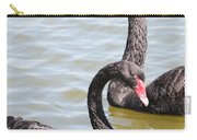 Black Swan Pair Carry-all Pouch