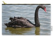 Black Swan Square Carry-all Pouch
