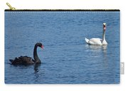 Black Swan White Swan Carry-all Pouch