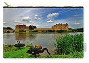 Black Swans At Leeds Castle II Carry-all Pouch