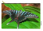 Black Swordtail Butterfly Carry-all Pouch