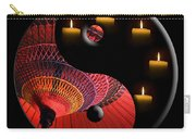 Black Tao Carry-all Pouch by Delphimages Photo Creations