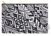 Black Thai Fabric 03 Carry-all Pouch