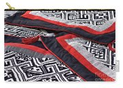 Black Thai Fabric 04 Carry-all Pouch