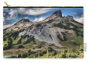 Black Tusk Over Alpine Meadows Carry-all Pouch