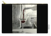 Black White And Red Wine Carry-all Pouch