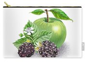 Blackberries And Green Apple Carry-all Pouch