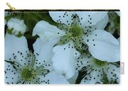 Blackberry Blossoms Carry-all Pouch