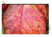 Blackberry Leaf In The Fall 3 Carry-all Pouch