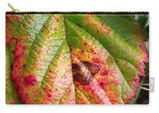 Blackberry Leaf In The Fall 4 Carry-all Pouch