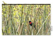 Blackbird In Reeds Carry-all Pouch