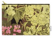 Blackbird In The Hellebores Carry-all Pouch