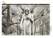 Blackbird On Angel Cross Carry-all Pouch
