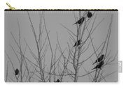 Blackbirds By The Moon Carry-all Pouch