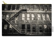 Blackened Fire Escape Carry-all Pouch