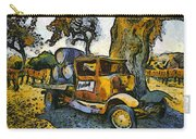 Blackjack Winery Truck Santa Ynez California Carry-all Pouch