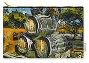 Blackjack Winery Wine Barrels Carry-all Pouch