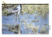 Blacksmith Lapwing Or Plover Vanellus Armatus Carry-all Pouch