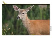 Blacktail Doe Looking At The Camera Carry-all Pouch