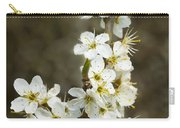 Blackthorn Or Sloe Blossom  Prunus Spinosa Carry-all Pouch