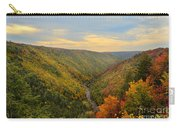 Blackwater Gorge With Fall Leaves Carry-all Pouch by Dan Friend