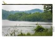 Blanket Of Fog On Clinch River  Carry-all Pouch