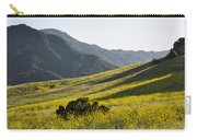 Blanket Of Malibu Creek Wildflowers Carry-all Pouch