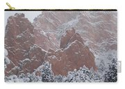 Blanketed Grandeur - Garden Of The Gods Carry-all Pouch