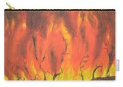 Blazing Fire Carry-all Pouch