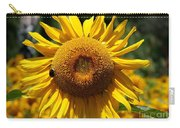 Blazing Yellow Sunflower Carry-all Pouch