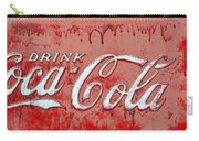 Bleeding Coke Red Carry-all Pouch
